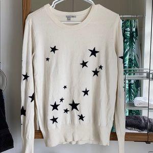 Cream Star Sweater